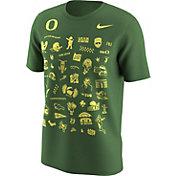 Nike Men's Oregon Ducks Apple Green Autzen Stadium 50th Anniversary Football T-Shirt