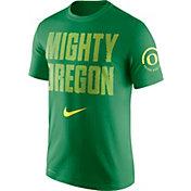 Nike Men's Oregon Ducks Green Dri-Fit Verbiage Performance T-Shirt