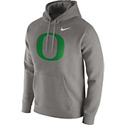 Nike Men's Oregon Ducks Grey Club Fleece Hoodie