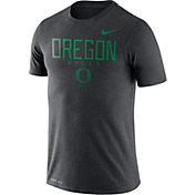Nike Men's Oregon Ducks Grey Football Dri-FIT Facility T-Shirt