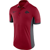 Nike Men's Arkansas Razorbacks Cardinal Evergreen Vault Performance Polo
