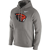 Nike Men's Oregon State Beavers Grey Club Hoodie