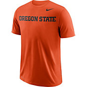 Nike Men's Oregon State Beavers Orange Wordmark T-Shirt