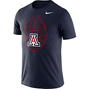 Nike Men's Arizona Wildcats Navy Dri-FIT Football Icon T-Shirt