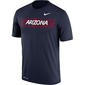 Nike Men's Arizona Wildcats Navy Football Sideline Legend T-Shirt