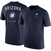 Nike Men's Arizona Wildcats Navy Dri-Blend Vault Logo T-Shirt