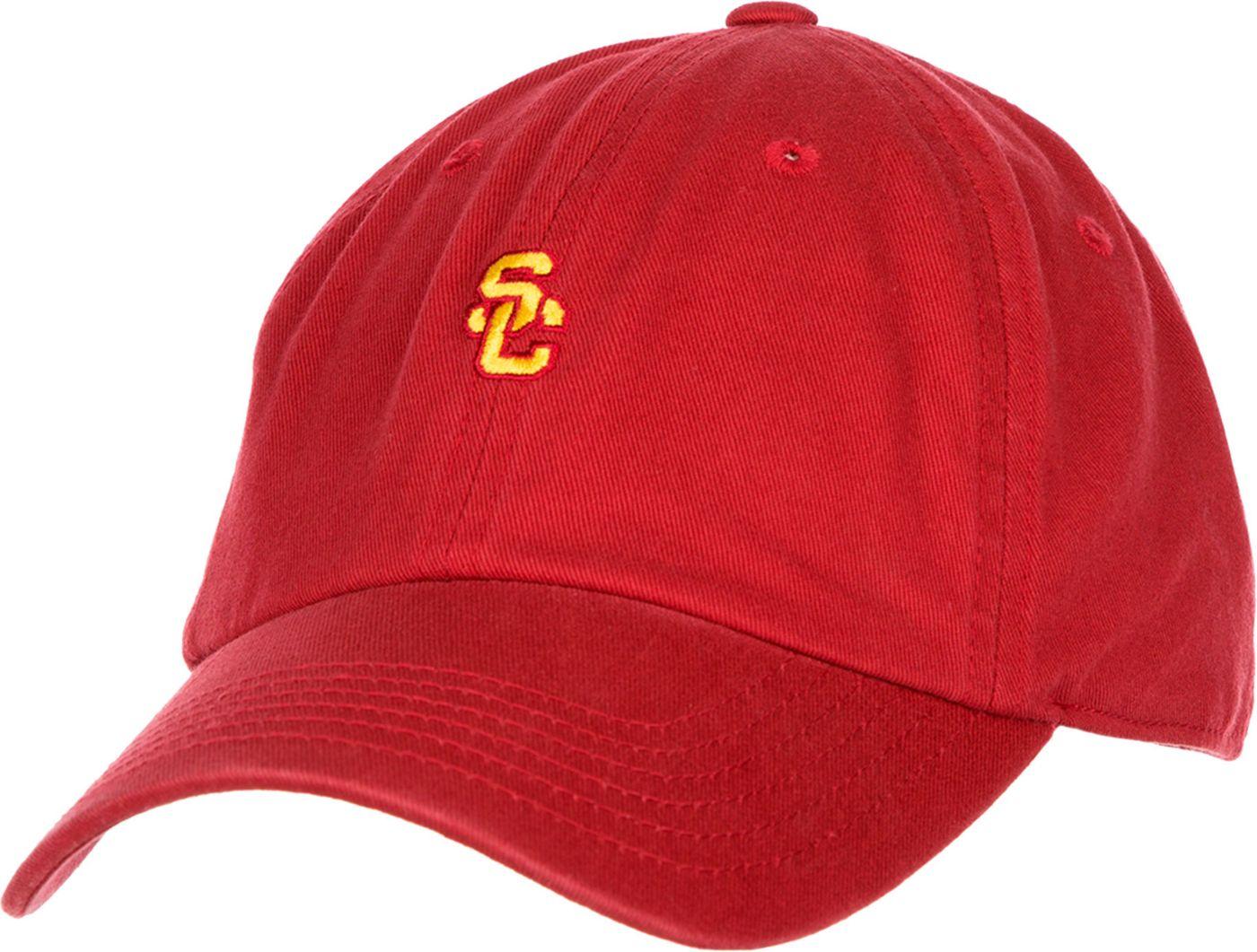 USC Authentic Apparel Men's USC Trojans Cardinal Adjustable Hat