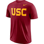 Nike Men's USC Trojans Cardinal Wordmark T-Shirt