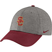 Nike Men's USC Trojans Grey/Cardinal Heritage86 Heather Adjustable Hat
