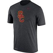 Nike Men's USC Trojans Grey Logo Dry Legend T-Shirt
