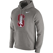 Nike Men's Stanford Cardinal Grey Club Fleece Hoodie