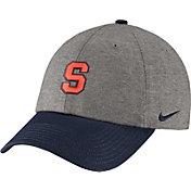 Nike Men's Syracuse Orange Grey/Blue Heritage86 Heather Adjustable Hat