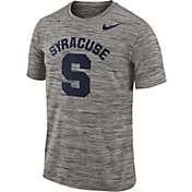Nike Men's Syracuse Orange Charcoal Football Dri-FIT Travel T-Shirt