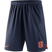 Nike Men's Syracuse Orange Blue Knit Football Performance Shorts