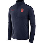 Nike Men's Syracuse Orange Blue Core Half-Zip Shirt