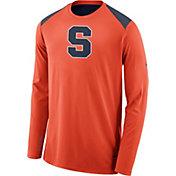 Nike Men's Syracuse Orange Orange Elite Shooter Long Sleeve Shirt