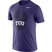 Nike Men's TCU Horned Frogs Purple Dri-FIT Football Icon T-Shirt