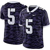 Nike Men's TCU Horned Frogs #5 Purple Limited Football Jersey