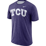 Nike Men's TCU Horned Frogs Purple Dri-FIT Football Sideline Slub T-Shirt