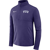 Nike Men's TCU Horned Frogs Purple Core Half-Zip Shirt