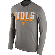Nike Men's Tennessee Volunteers Grey Dri-FIT Franchise Long Sleeve T-Shirt