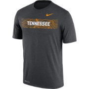 Nike Men's Tennessee Volunteers Grey Football Sideline Legend T-Shirt