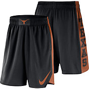 Nike Men's Texas Longhorns PHK Elite Basketball Black Shorts