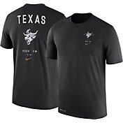 Nike Men's Texas Longhorns Black Dri-Blend Vault Logo T-Shirt