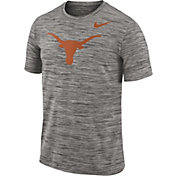 Nike Men's Texas Longhorns Charcoal Football Dri-FIT Travel T-Shirt