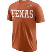 a987a7c7 Product Image · Nike Men's Texas Longhorns Burnt Orange Wordmark T-Shirt