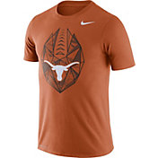 Nike Men's Texas Longhorns Burnt Orange Dri-FIT Football Icon T-Shirt