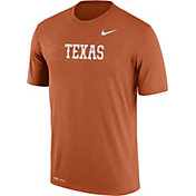 Nike Men's Texas Longhorns Burnt Orange Football Sideline Legend T-Shirt