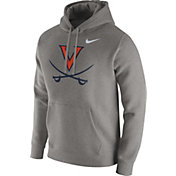 Nike Men's Virginia Cavaliers Grey Club Hoodie