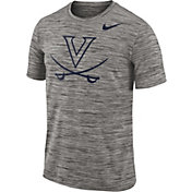 Nike Men's Virginia Cavaliers Charcoal Football Dri-FIT Travel T-Shirt