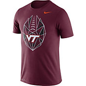 Nike Men's Virginia Tech Hokies Maroon Dri-FIT Football Icon T-Shirt