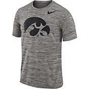 Nike Men's Iowa Hawkeyes Charcoal Football Dri-FIT Travel T-Shirt