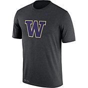 Nike Men's Washington Huskies Grey Logo Dry Legend T-Shirt