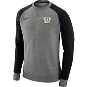Nike Men's Washington Huskies Grey/Black AW77 Pullover Crew Sweatshirt