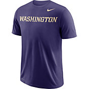 Nike Men's Washington Huskies Purple Wordmark T-Shirt
