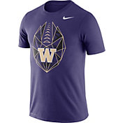 Nike Men's Washington Huskies Purple Dri-FIT Football Icon T-Shirt