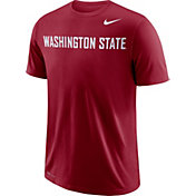 Nike Men's Washington State Cougars Crimson Wordmark T-Shirt