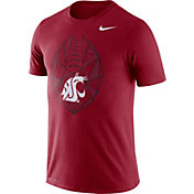 Nike Men's Washington State Cougars Crimson Dri-FIT Football Icon T-Shirt