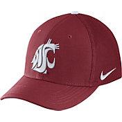 Nike Men's Washington State Cougars Crimson Aerobill Swoosh Flex Classic99 Hat