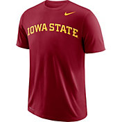 Nike Men's Iowa State Cyclones Cardinal Wordmark T-Shirt