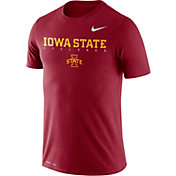 Nike Men's Iowa State Cyclones Cardinal Football Dri-FIT Facility T-Shirt