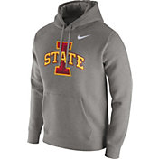Nike Men's Iowa State Cyclones Grey Club Hoodie