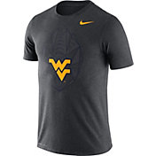 Nike Men's West Virginia Mountaineers Grey Dri-FIT Football Icon T-Shirt