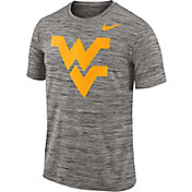 Nike Men's West Virginia Mountaineers Charcoal Football Dri-FIT Travel T-Shirt