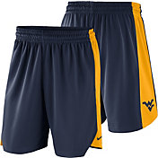 Nike Men's West Virginia Mountaineers Blue Basketball Practice Shorts