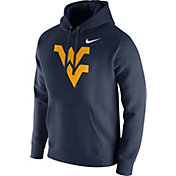 Nike Men's West Virginia Mountaineers Blue Club Fleece Hoodie